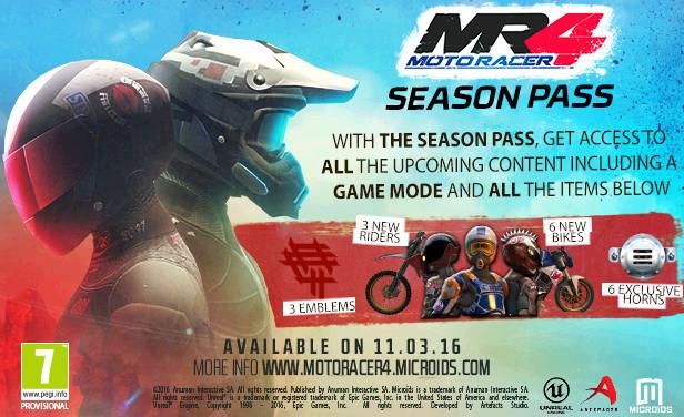 к игре Moto Racer 4