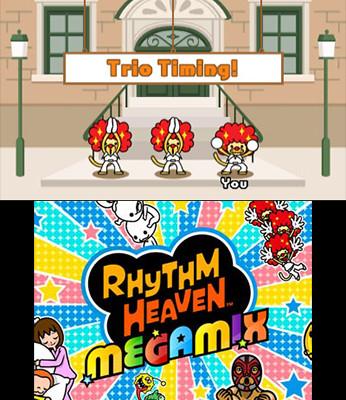 к игре Rhythm Heaven Megamix