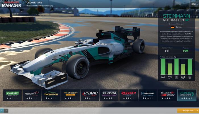 к игре Motorsport Manager