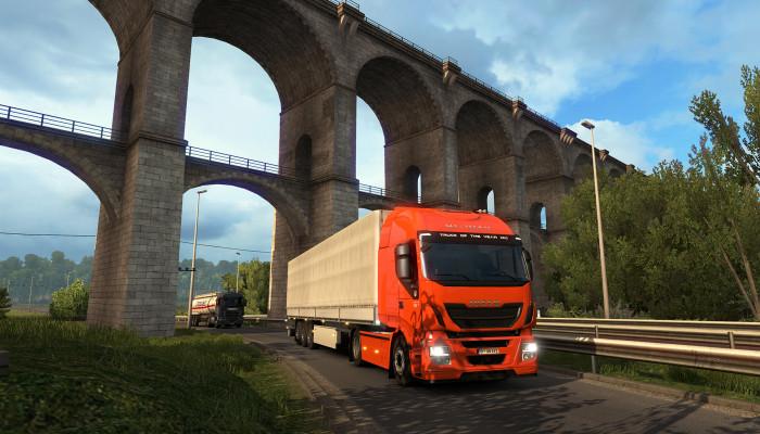 к игре Euro Truck Simulator 2 - Vive la France !
