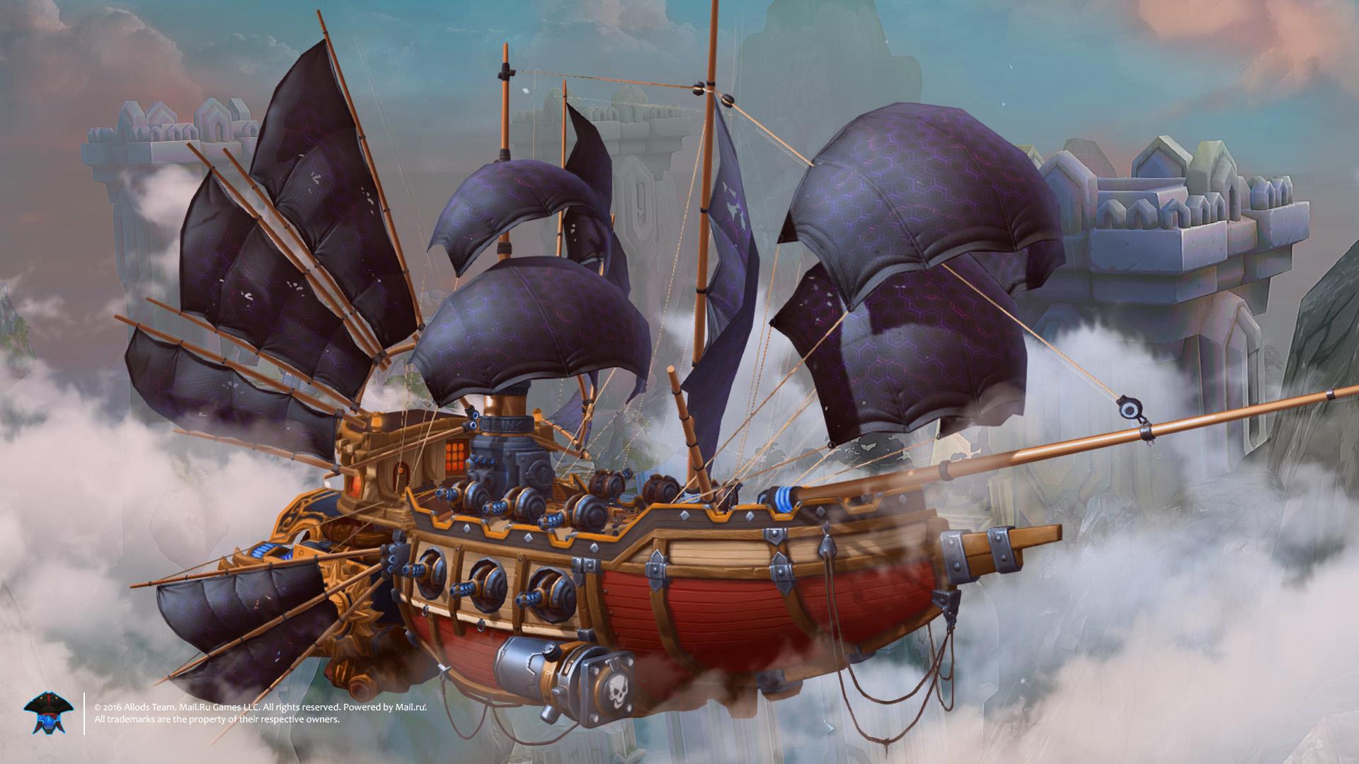 Картинка пираты штурм небеса