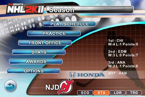 к игре NHL 2K11