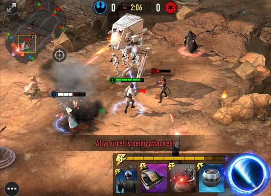 к игре Star Wars: Force Arena