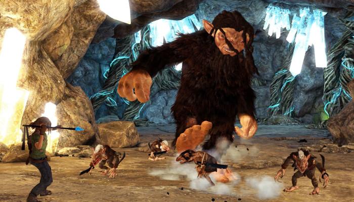 Скриншоты из игры Troll and I
