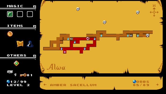 к игре Alwa's Awakening