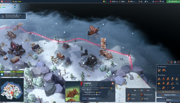 Скриншоты из игры Northgard