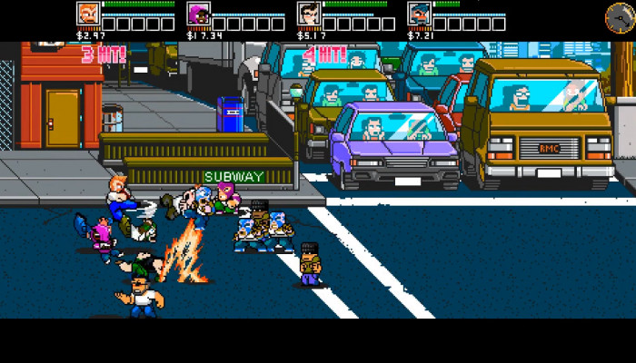 к игре River City Ransom: Underground