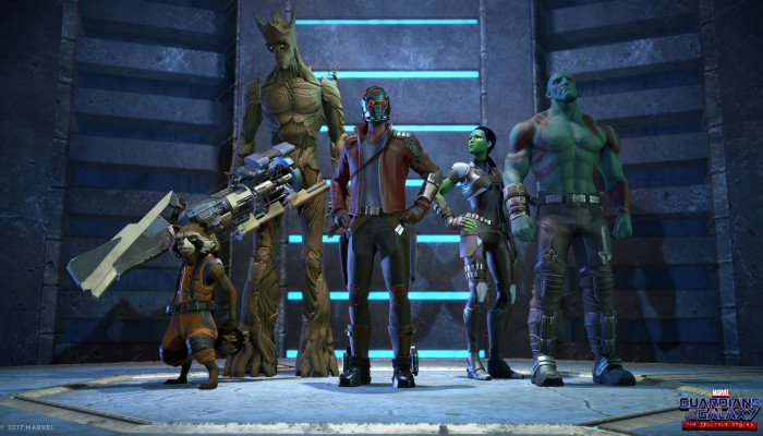 к игре Marvel's Guardians of the Galaxy: The Telltale Series