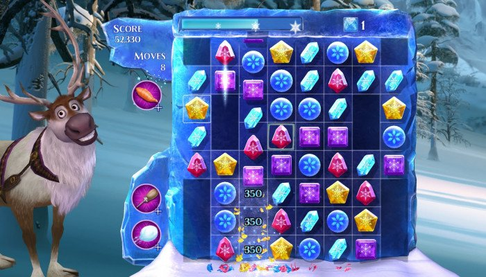 к игре Frozen Free Fall: Snowball Fight
