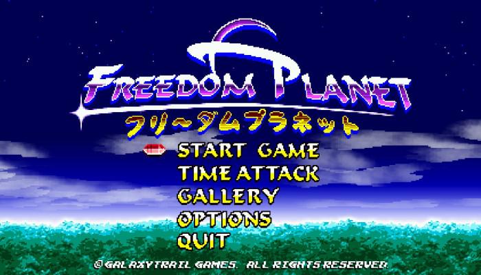 к игре Freedom Planet