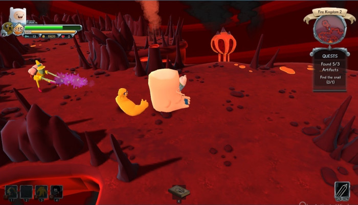 к игре Finn and Jake's Epic Quest