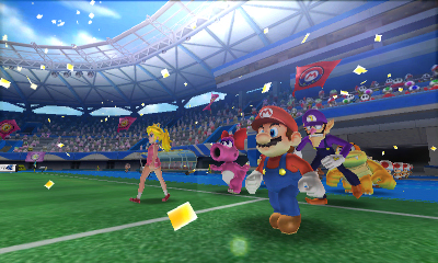 к игре Mario Sports Superstars