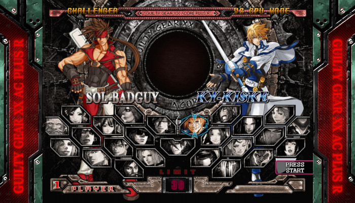 к игре GUILTY GEAR XX ACCENT CORE PLUS R