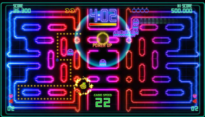 к игре PAC-MAN Championship Edition DX+