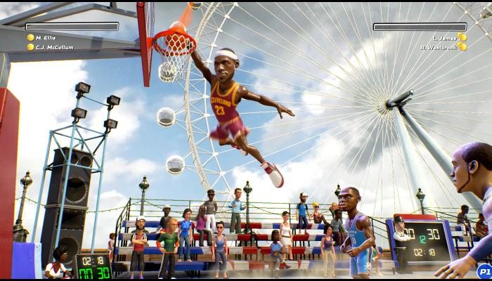 к игре NBA Playgrounds