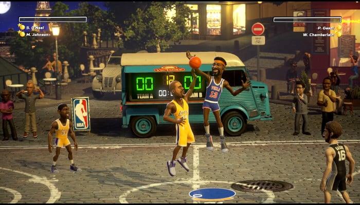 к игре NBA Playgrounds