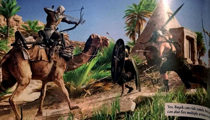 к игре Assassin's Creed: Origins