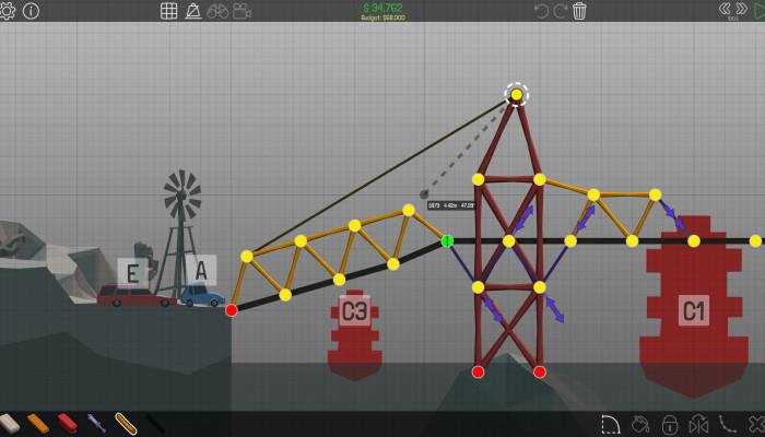 к игре Poly Bridge