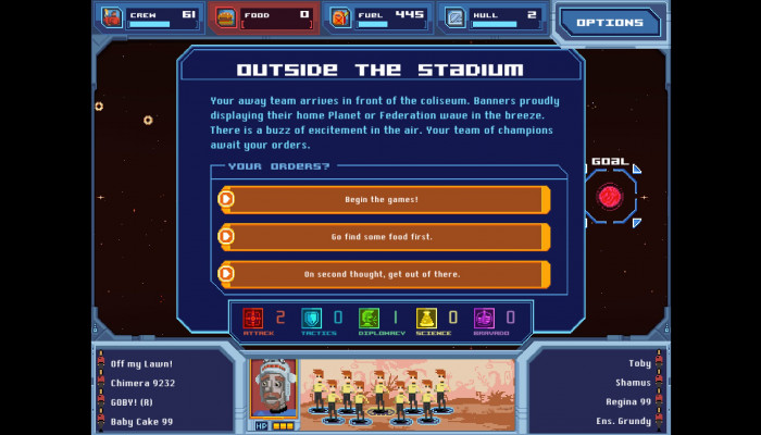 к игре Orion Trail