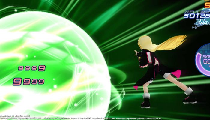 к игре Superdimension Neptune VS Sega Hard Girls