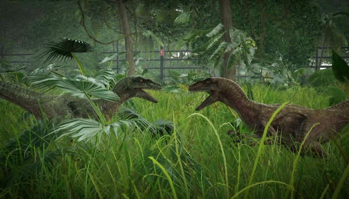 к игре Jurassic World: Evolution
