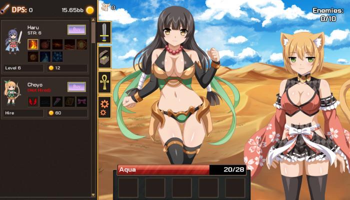к игре Sakura Clicker