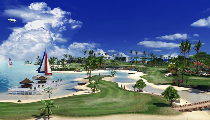 к игре Everybody's Golf
