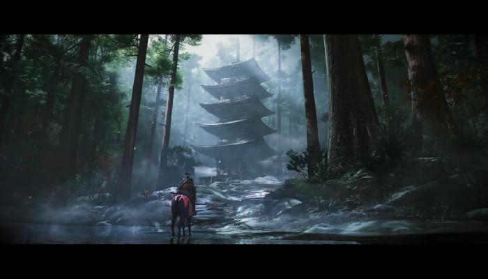 к игре Ghost of Tsushima