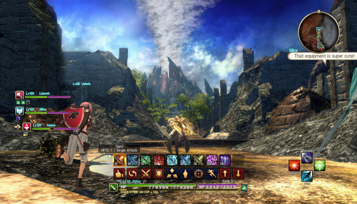 к игре Sword Art Online: Hollow Realization