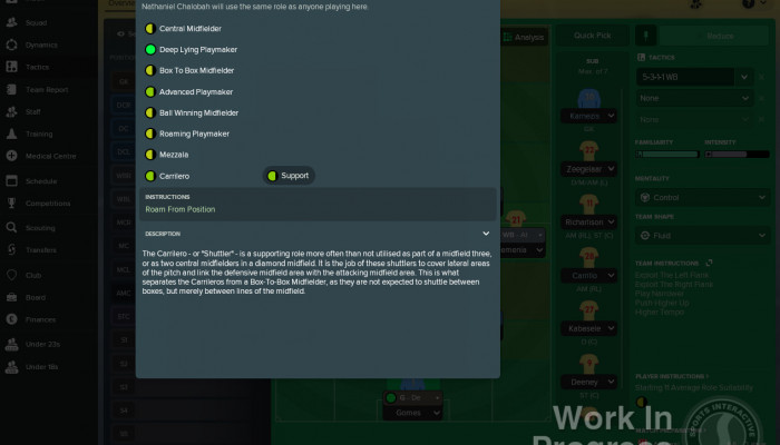 к игре Football Manager 2018