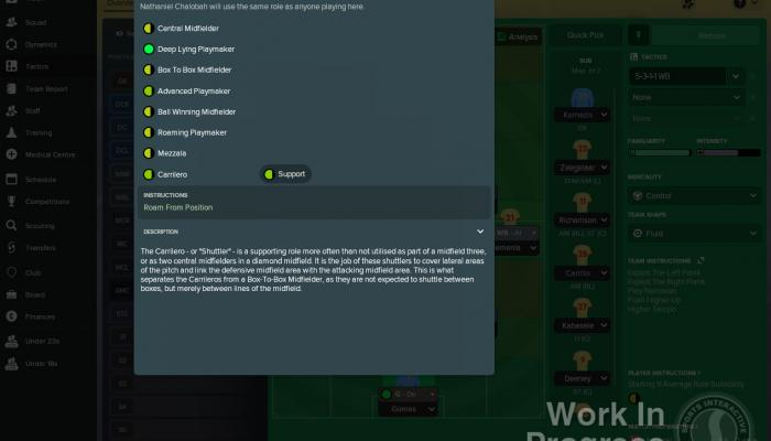 к игре Football Manager 2018
