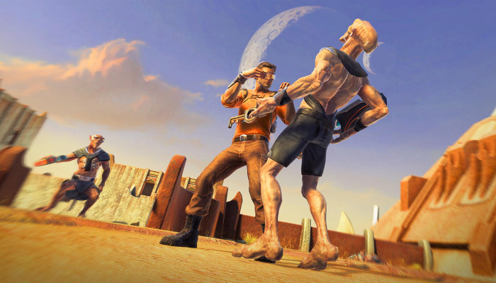 к игре Outcast: Second Contact