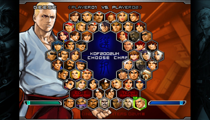 к игре King of Fighters 2002: Unlimited Match, The