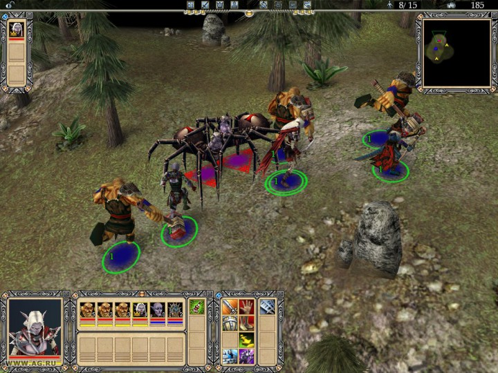 Entertainments real-time strategy rts world role-playing game