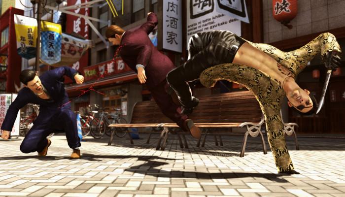 к игре Yakuza: Kiwami 2