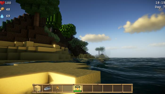 к игре Cube Life: Island Survival