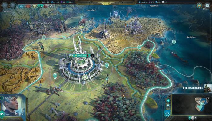 к игре Age of Wonders: Planetfall