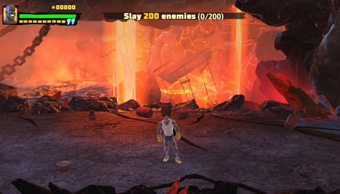 к игре Shaq Fu: A Legend Reborn