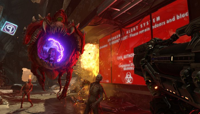 к игре Doom Eternal