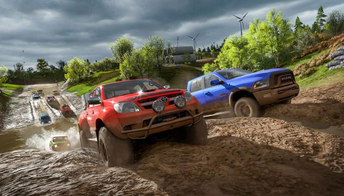 к игре Forza Horizon 4