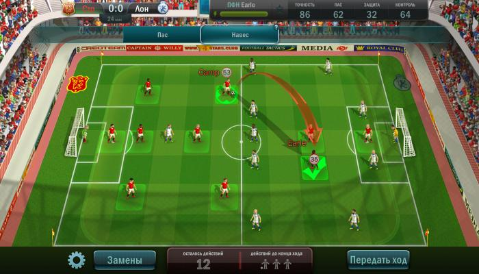 к игре Football, Tactics & Glory