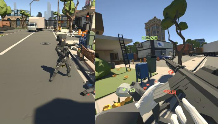 к игре Headshot VR