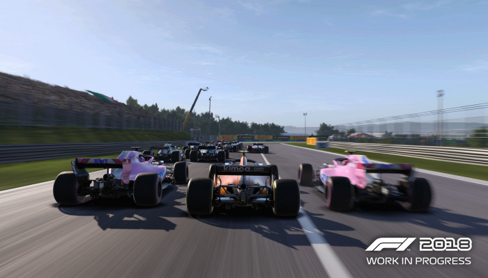 к игре F1 2018