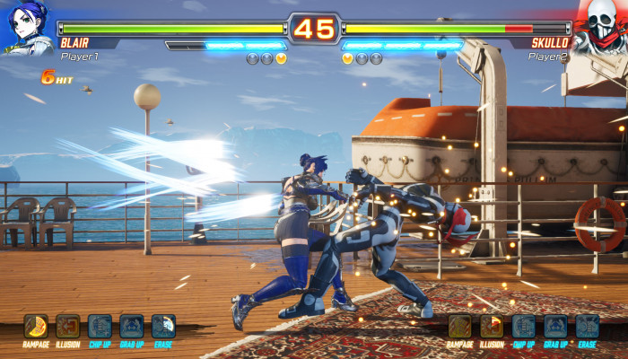 к игре Fighting EX Layer