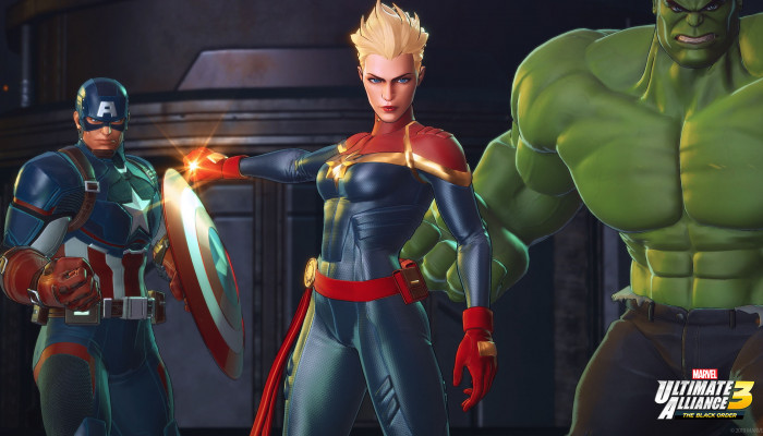 к игре Marvel Ultimate Alliance 3: The Black Order