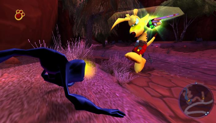 к игре Ty the Tasmanian Tiger 3: Night of the Quinkan
