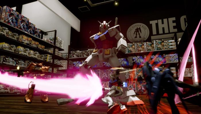 к игре New Gundam Breaker