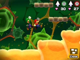 к игре Mario & Luigi: Bowser's Inside Story + Bowser Jr.'s Journey