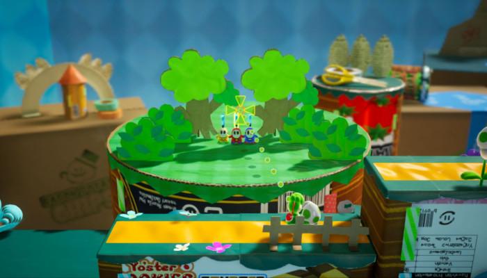 к игре Yoshi's Crafted World