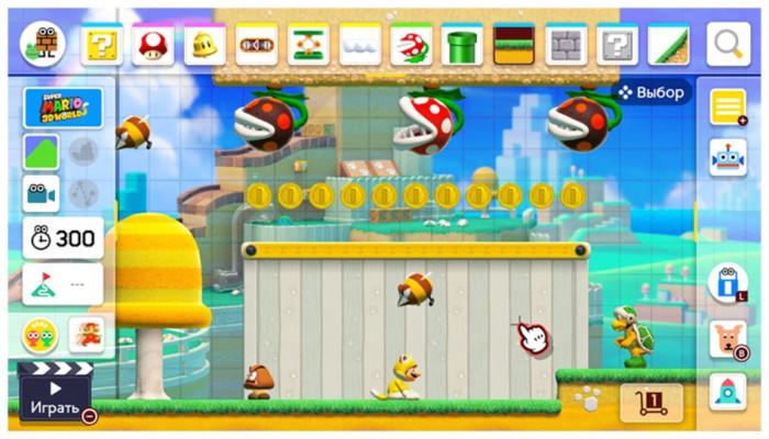 к игре Super Mario Maker 2